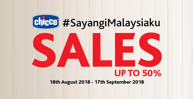 #SayangiMalaysiaKu Merdeka Sales