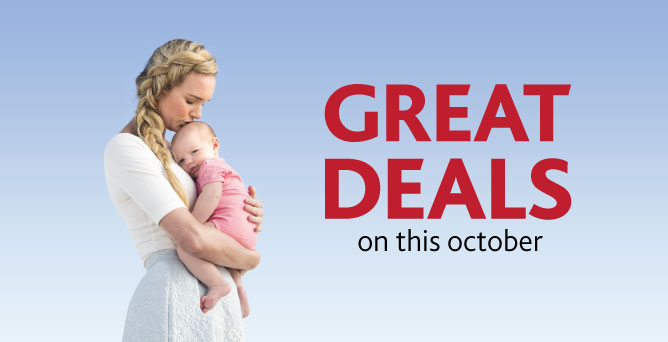 October Great deals