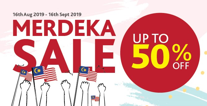 2019 Merdeka Sale
