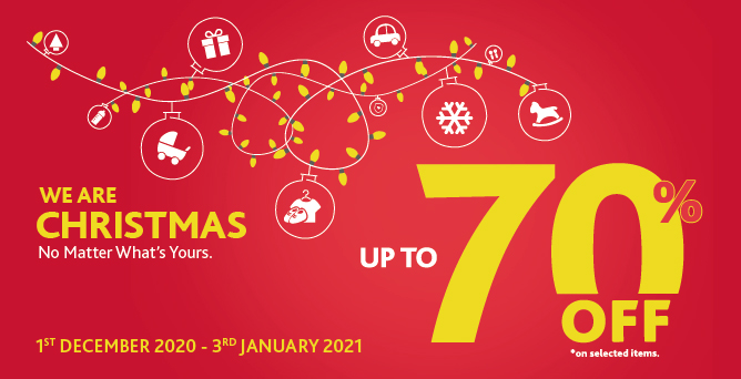 2020 We Are Christmas Promotion