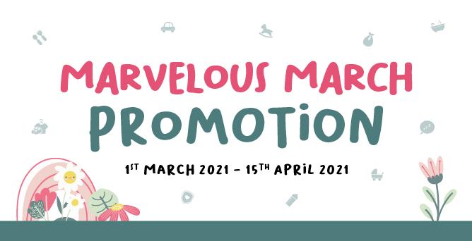 2021 Marvelous March Promotion