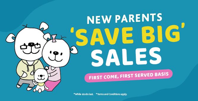 2021 New Parents 'SAVE BIG' Sales